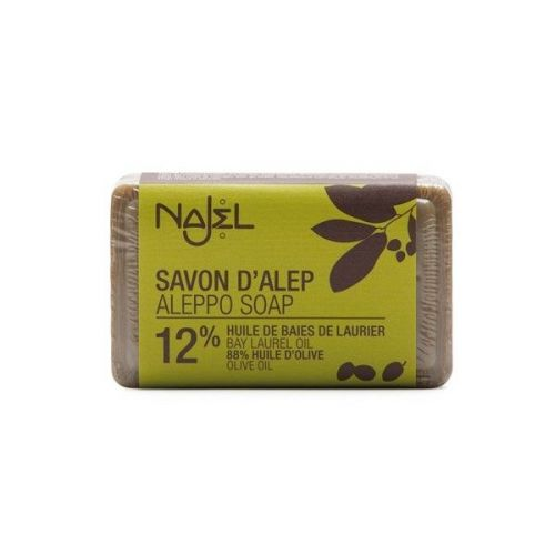 NAJEL mydło oliwno laurowe 12% ALEPPO 100g