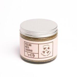 Naturalny peeling róża i baobab z cukrem trzcinowym Cztery Szpaki