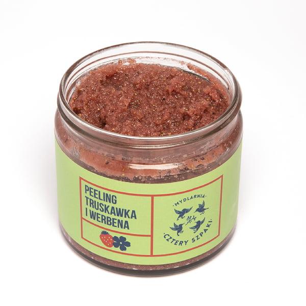 Naturalny peeling truskawka i werbena