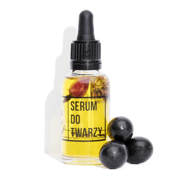 Naturalne Serum do Twarzy z Witaminą C i Kwiatem Koniczyny