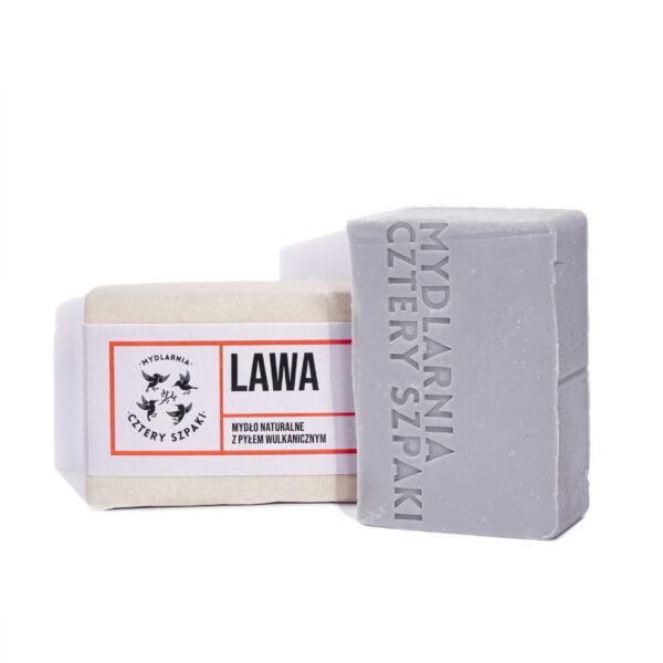 Mydło z pyłem wulkanicznym LAWA 4szpaki