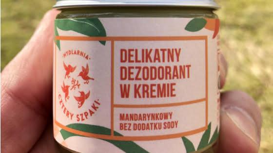 Dezodorant w kremie mandarynkowy