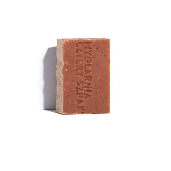 Mydło peelingujące truskawka i werbena