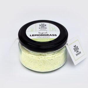 Sól do kąpieli lemongrass z rozmarynem